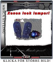 Parkerings ljus Xenon look 5W till klarglas kit.