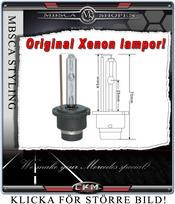Xenon reserv lampa för bilar med orginal monterade Xenons