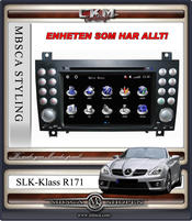 "C6. Comand Facelifting Produkt enhet i ""MB LOOK"" DVD NAVI Bluetooth Touch Screen mm.."