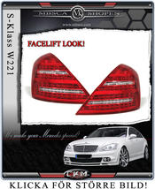 "Facelift ""look"" baklysen 2 st"