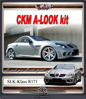 "1. CKM ""A-look"" Spoiler kit 4 delar"
