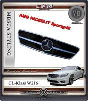 Grill AMG Facelift sport 1 st MB ORIGINAL 1rib